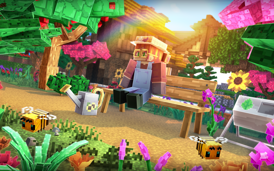A Brand New Educational Experience in Minecraft; Plants!